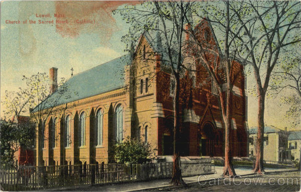 Church of the Sacred Heart (Catholic) Lowell Massachusetts