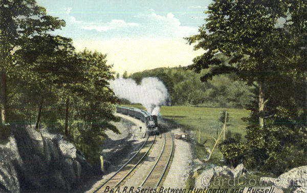 B & A.R.R.Series Between Huntington and Russell Railroad (Scenic)