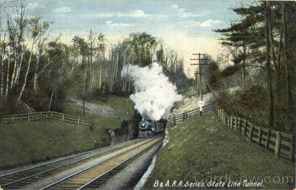 B & A.R.R.Series. State Line Tunnel Railroad (Scenic)