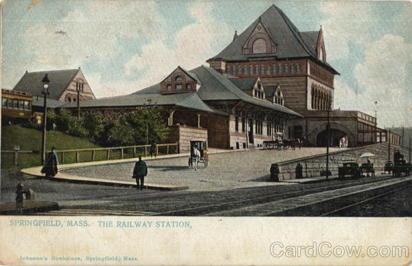 The Railway Station Springfield Massachusetts