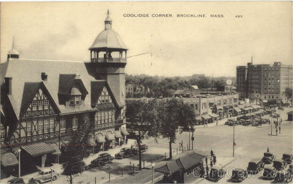 Coolidge Corner Brookline Massachusetts
