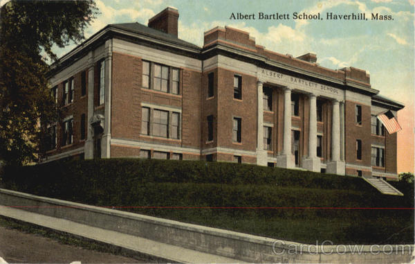 Albert Bartlett School Haverhill Massachusetts