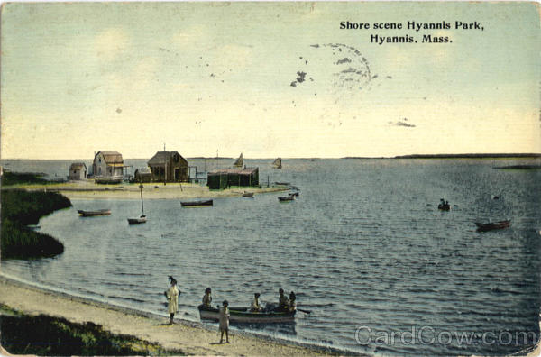 Shore scene, Hyannis Park Massachusetts