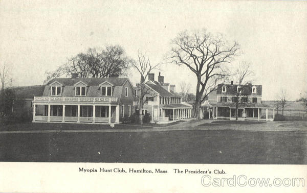 Myopia Hunt Club Hamilton Massachusetts