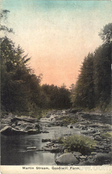 Martin Stream, Good-will Farm Scenic Maine