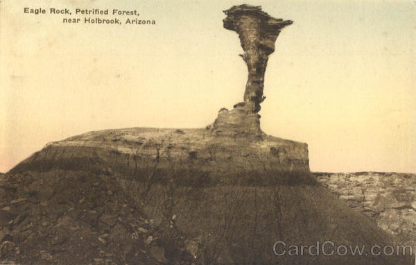 Eagle Rock, Petrified Forest Holbrook Arizona