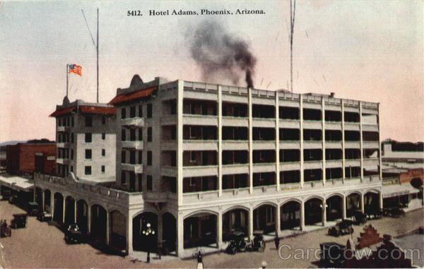 Hotel Adams Phoenix Arizona