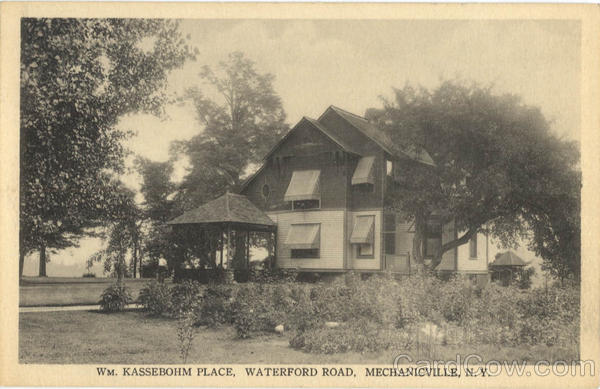Wm. Kassebohm Place, Waterford Road Mechanicville New York