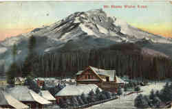 Mt. Shasta Winter Scene
