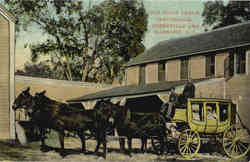 Old Stage Coach, Greenville and Harmony
