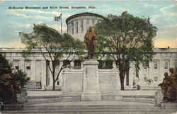 McKinley Monument and State House