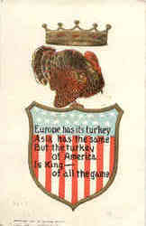 Patriotic Thangsgiving Turkey