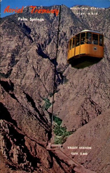 Aerial Tramway Palm Springs California