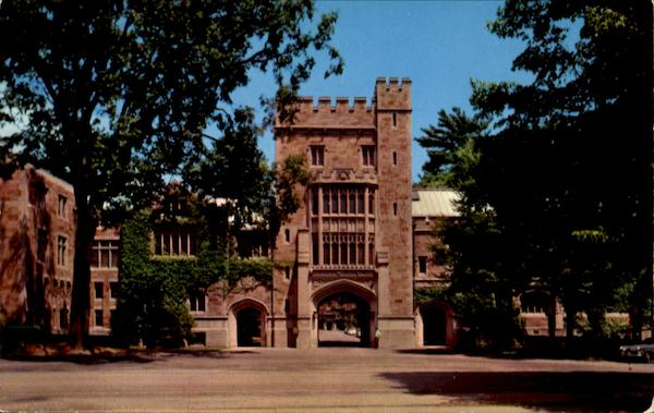 Taylor Hall, Vassar College Poughkeepsie New York