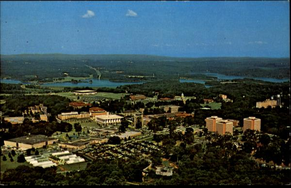 Aerial View Of Clemson University Campus South Carolina