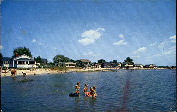 Beaches At Indiantown And Saybrook Manor Old Connecticut