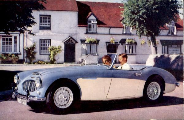 The Austin Healey 100 Six Cars
