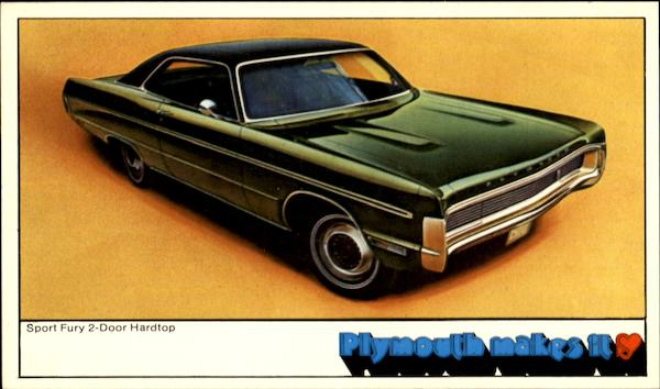 1970 Plymouth Sport Furry Cars