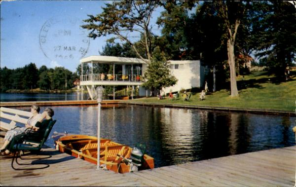 Waterfront Lake House Muskoka Ontario Canada