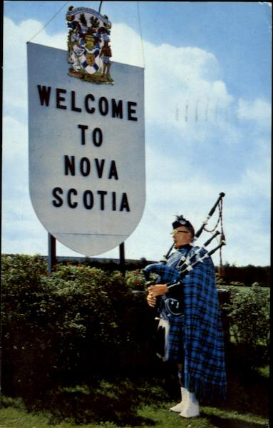 Welcome To Nova Scotia Canada