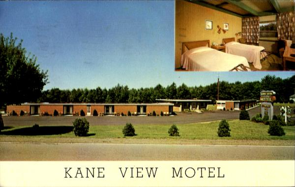 Kane View Motel Pennsylvania