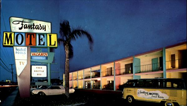 Fantasy Motel, 1734 Harbor Blvd Anaheim California