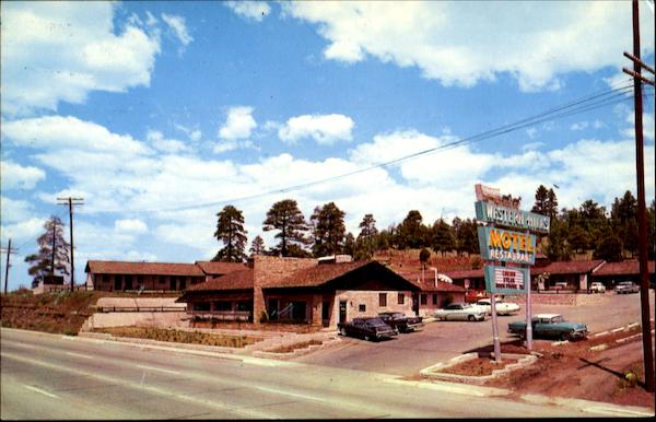 Western Hills Motor Hotel, East Flagstaff On U. S. 66 Arizona