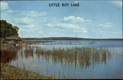 Little Boy Lake Postcard