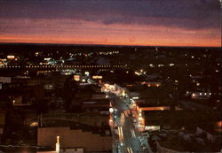 Downtown At Night, Amite Street