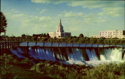 The Mormon Temple Postcard
