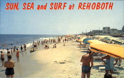 Sun Sea And Surf At Rehoboth