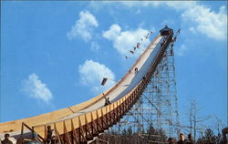 Pine Mountain Ski Jump Postcard