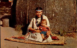 Winnebago Mother And Child