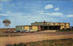 Park Lane Motor Hotel, No. 1 Highway Medicine Hat Postcard