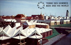 Terre Des Hommes Man And His World Postcard