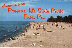 Greetings From Presque Isle State Park