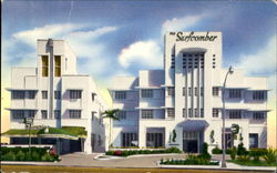 The Seacomber-Surfcomber Hotels, 17th Street Postcard
