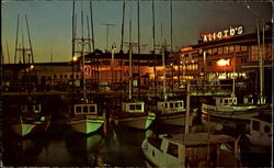 Fisherman's Wharf At Night