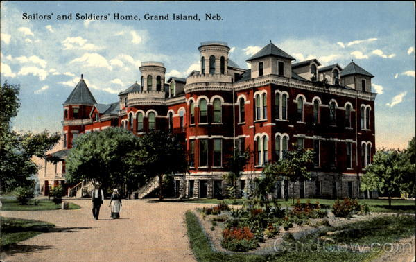 Sailors' And Soldiers' Home Grand Island Nebraska