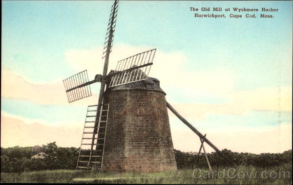The Old Mill, Harwichport Cape Cod Massachusetts