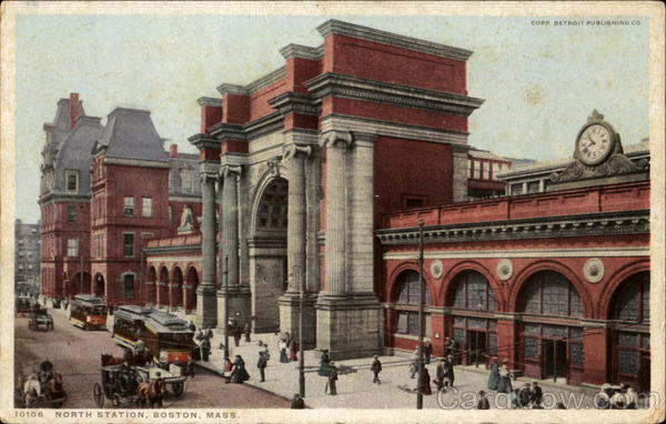 North Station Boston Massachusetts