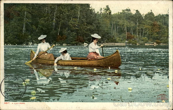 A Lily Pond Canoes & Rowboats