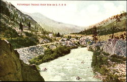 Picturesque Truckee River View, S. P. R. R
