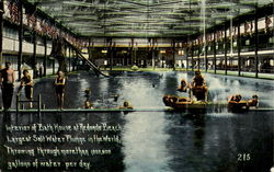 Interior Of Bath House At Redondo Beach