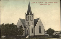Trinity M. E. Church, Corner of 6th and Sycamore