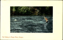 Flying Fish In Rogue River