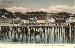 Wharf And Waterfront At Wrangell