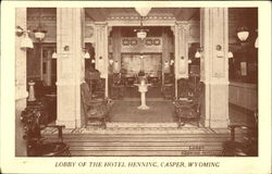 Lobby Of The Hotel Henning