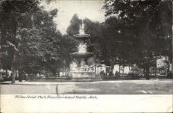 Fulton Street Park Fountain