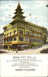 Sing Fat Co., Inc.,, Grant Ave